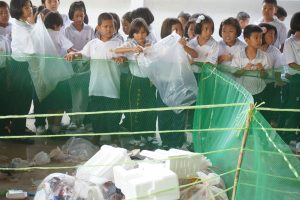 2nd Nongpho School Plastic Collection