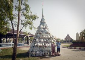 Done! The Dead Plastic Stupa