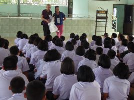 Nongpho School Plastic Collection